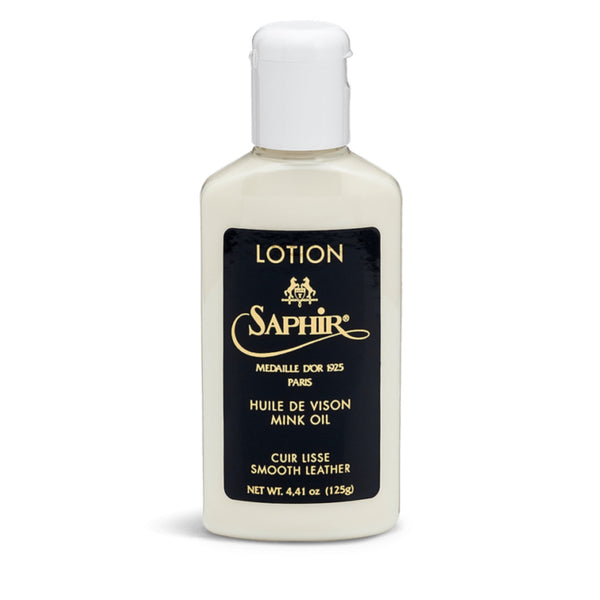 Saphir Leather Lotion - Burrows and Hare