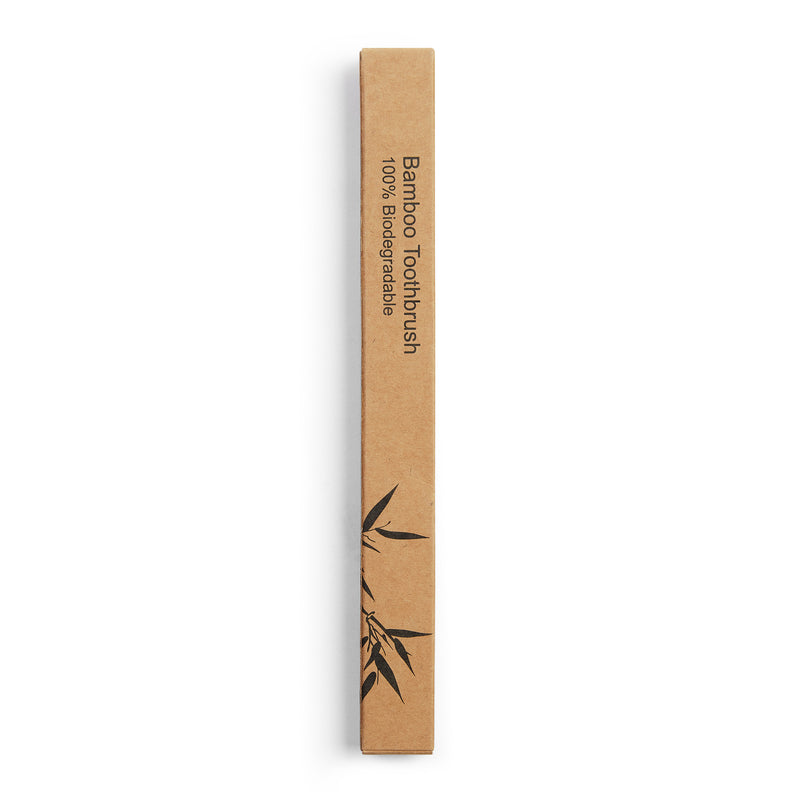 Bamboo Toothbrush - Blue - Burrows and Hare