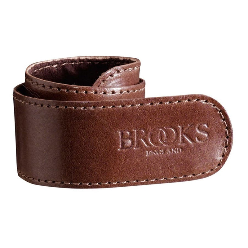 Brooks England Leather Trouser Strap - Brown - Burrows and Hare