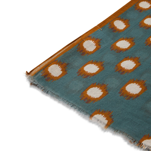 Hartford Scarf - Teal - Burrows and Hare