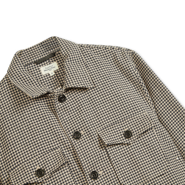 Hartford Daytona Jacket - Houndstooth - Burrows and Hare
