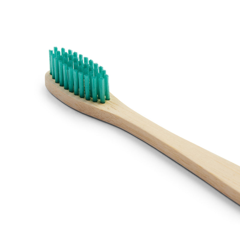Bamboo Toothbrush - Green - Burrows and Hare