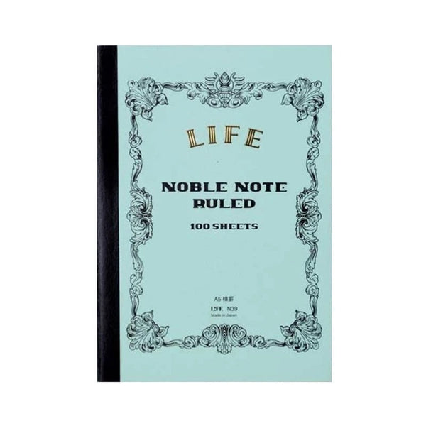 Life Japan Japanese Noble Notebook A5 - Ruled - Burrows and Hare