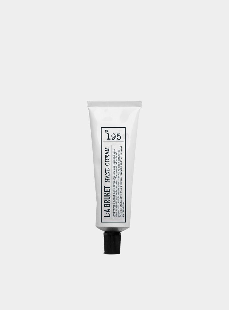 L:A  BRUKET -195 -Grapefruit Leaf Hand Cream