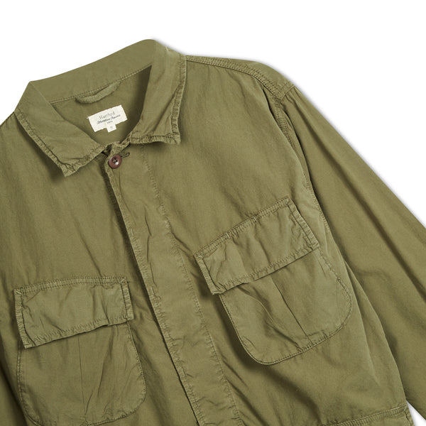 Hartford Jacket - Green - Burrows and Hare