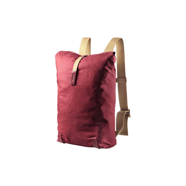 Brooks England Pickwick Linen Backpack 26L - Maroon