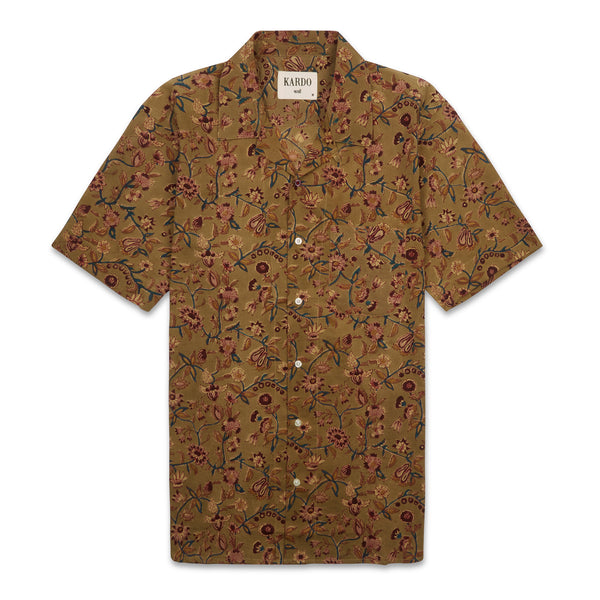 Kardo Lamar Shirt - Anokhi Flowers - Burrows and Hare