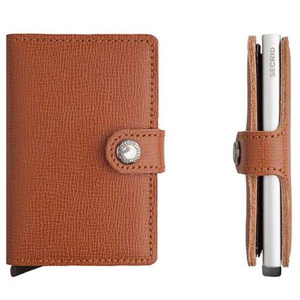 Secrid Miniwallet - Crisple Caramel - Burrows and Hare