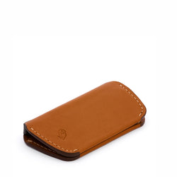 Bellroy Leather Key Cover - Caramel - Burrows and Hare