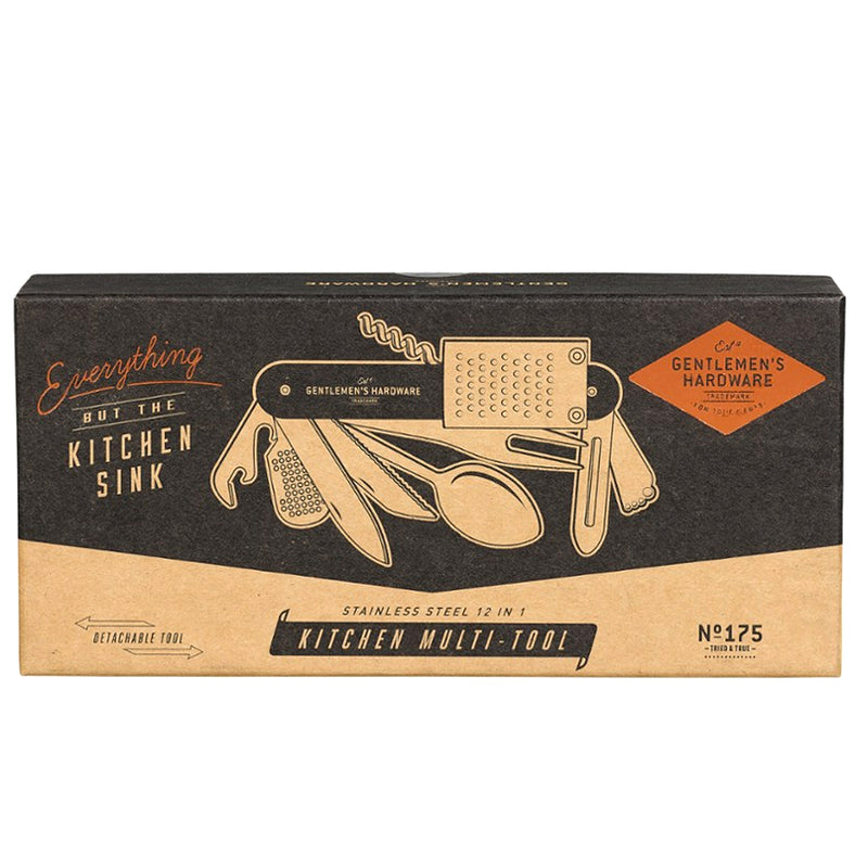 Gentlemen's Hardware Kitchen Multi tool - Burrows and Hare