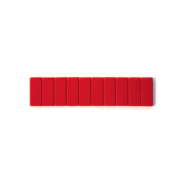 Blackwing Replacement Erasers Pack of 10 - Red - Burrows and Hare