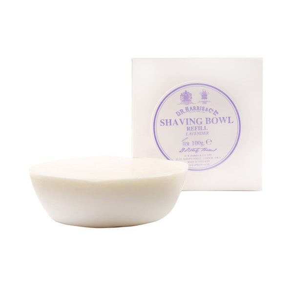 D.R Harris Triple-Milled Shaving Soap Refill Lavender - Burrows and Hare