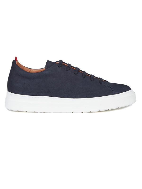 Oliver Spencer Marton Trainer - Navy - Burrows and Hare