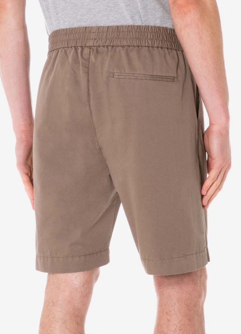 Sunspel Drawstring Shorts - Dark Stone - Burrows and Hare