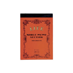 Life Japan Japanese Noble Memo Book B7 - Section