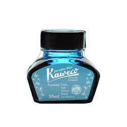 Kaweco Ink Bottle 30ml - Paradise Blue - Burrows and Hare
