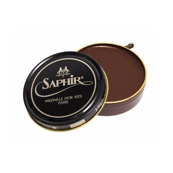 Saphir Shoe Polish - Brown - Burrows and Hare