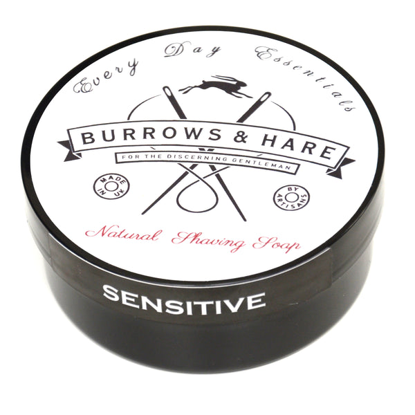 Burrows and Hare Shaving Soap - Natural Sensitive - Burrows and Hare
