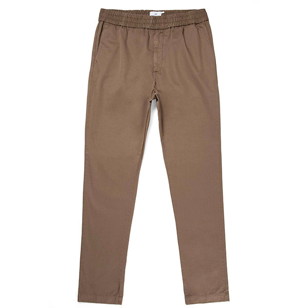 Sunspel Drawstring trouser Dark stone - Burrows and Hare