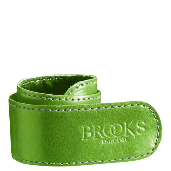 Brooks England Leather Trouser Strap - Green - Burrows and Hare