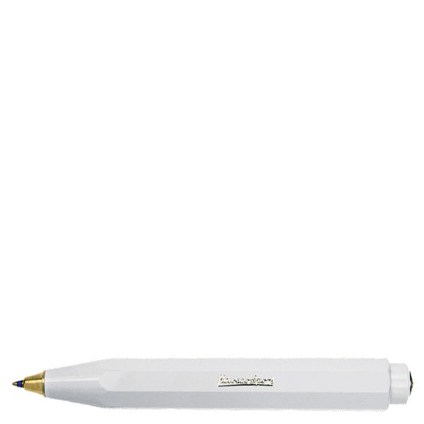 Kaweco Classic Sport Ballpoint Pen - White - Burrows and Hare