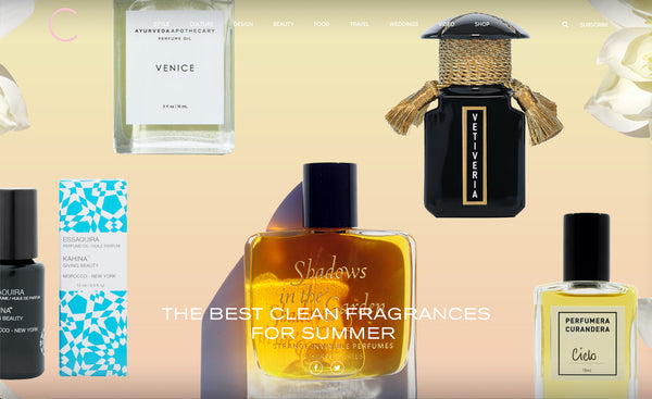 C Magazine – The Best Clean Fragrances for Summer