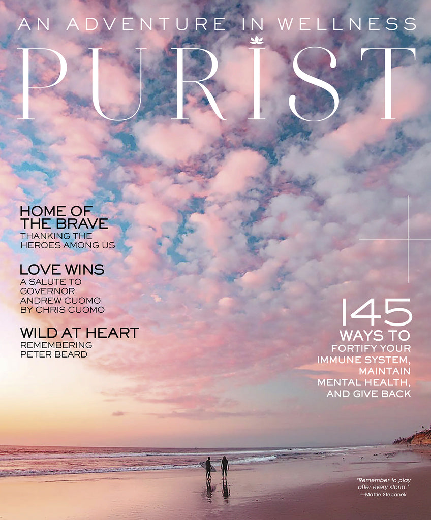 Cover of the Purist magazine