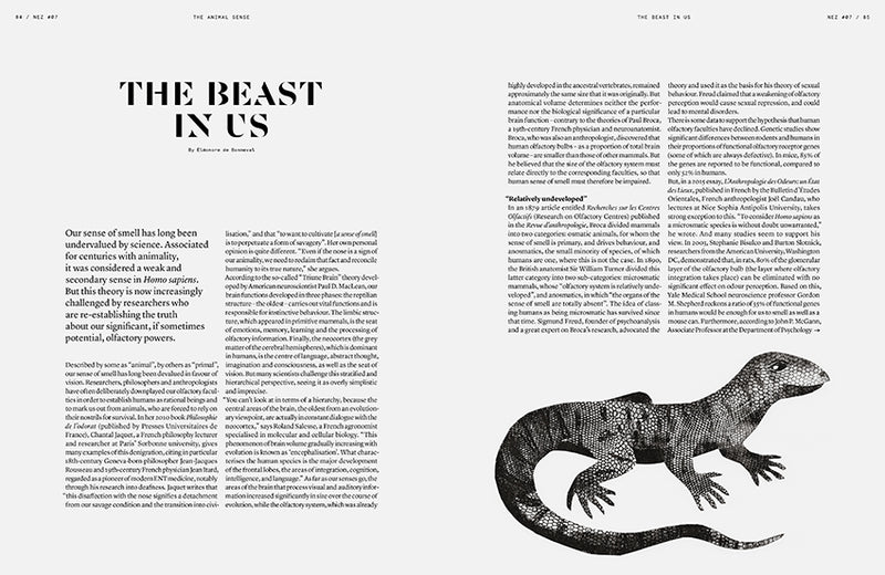NEZ Issue #07 The Animal Sense (English)