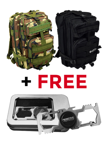 40 L Tactical Backpack + Free Multi-Toll Fidget Spinner