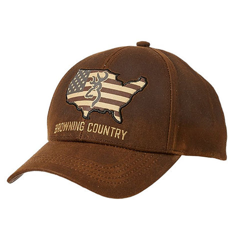 Cap, Browning Country Wax