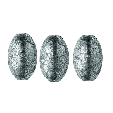 Egg Sinker Sz-3/4 Oz 02050-007 3pcs