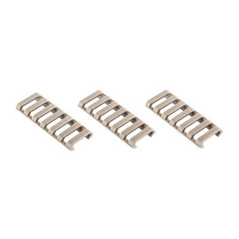 7Slot Ladder LowPro Rail Covers 3pk FDE