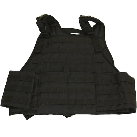 Plate Carrier Vest with Cumber Bund Black