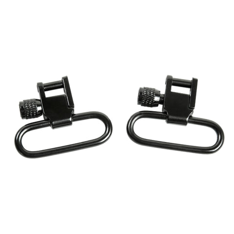 "1"" Lockable Sling Swivel (Pair)/Black"