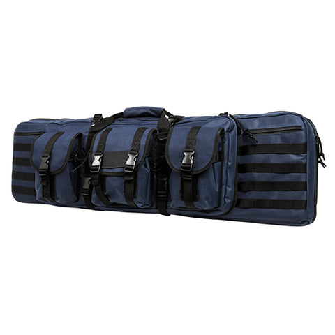 Double Carbine Case/Blue/42 In