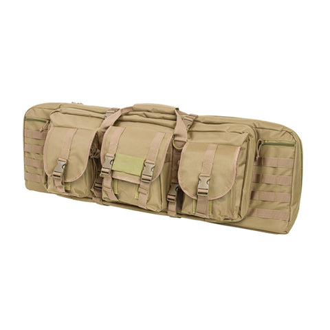 Double Carbine Case/Tan/36 In