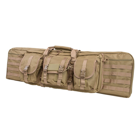 Double Carbine Case/Tan/42 In