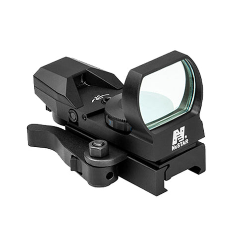 Blue Reflex Sight/4 Reticles/Qr Mnt/Blk