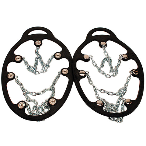 Chains Ice Trekkers, Black, Medium