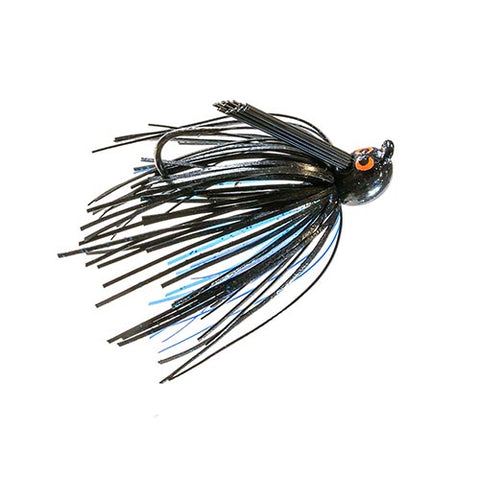 CROSSEYEZ PWR FNSS JIG 3/8oz BLACK/BLUE