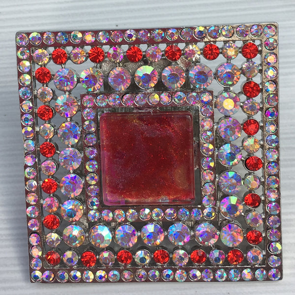 Red Sky Square Burst Resin - Sinchi®