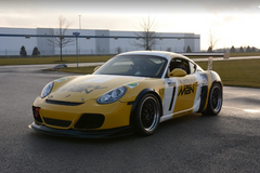 2010 Porsche Cayman S Yellow