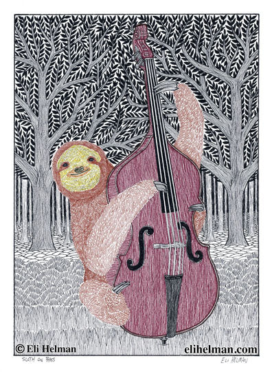 Sloth on Bass