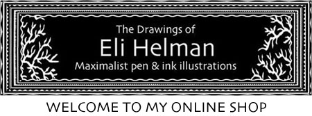 Drawings of Eli Helman