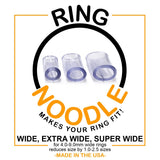 RING NOODLE - Ring Guard / Ring Size Reducer