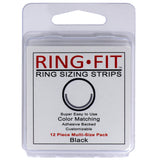 Ring-Fit Ring Sizing Strips for WIDE Rings (wider than 3mm)