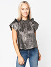 Hunter Bell Women's Metallic Blair Top