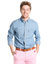 Vineyard Vines Men's Two Pocket Slim Crosby Shirt
