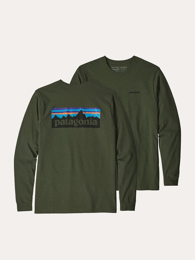 Patagonia MEN/'S LONG-SLEEVED r1 ® Fitz Roy 1//4-zip Pile-Nomad Green-XL