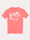 Southern Tide Boys' Outline Skipjack Tee